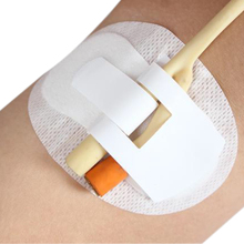 10pcs/lot foley catheter holder homecare fixed stick care non-woven adhesive sterilized tube size11*6cm