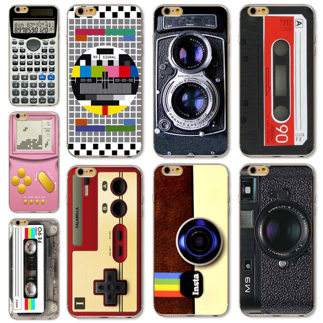 4e1474ecfb Hot For iPhone 6 6S Phone Case Cover Camera Style Magnetic Calculator  Classic Funny Designs Mobile Phone Bag Protector