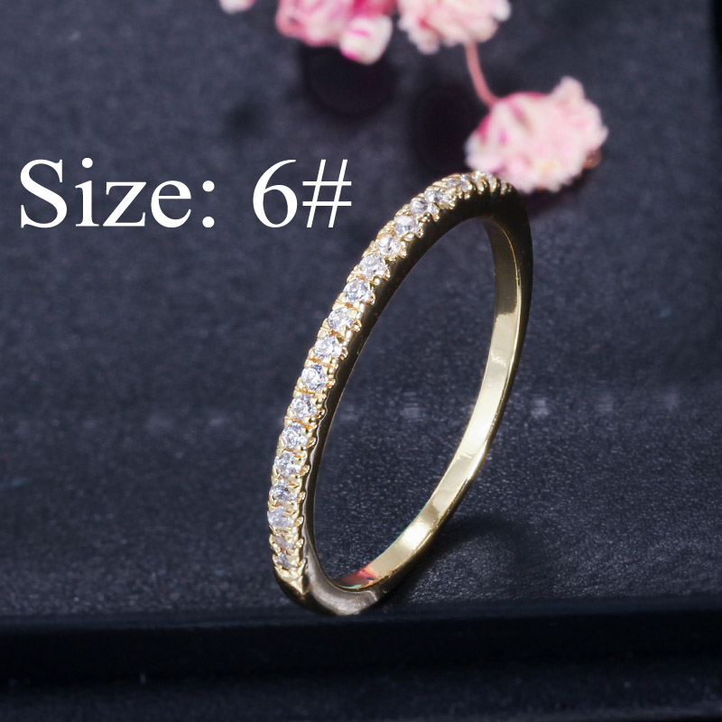 Gold Size 6