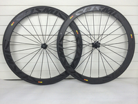 50mm 700C Road Bike wheels Carbon Bicycle Clincher Tubular Road Wheelset 23mm 25mm Carbon Fiber 3K UD Twill Cycling Wheels