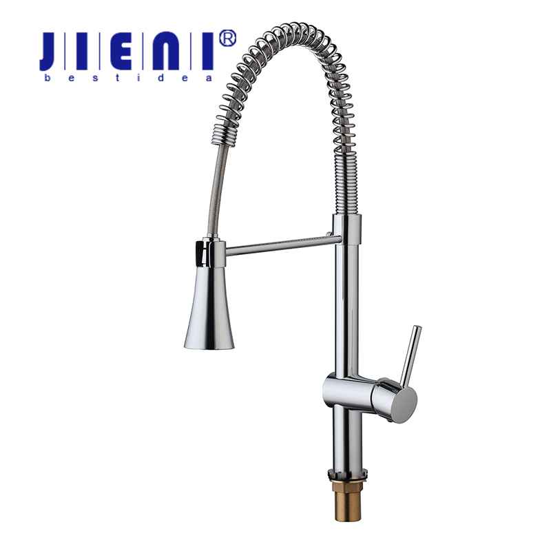 Best Kitchen Torneira No Need Batteries LED Light Swivel Chrome 8085 7 Basin Sink Water Tap