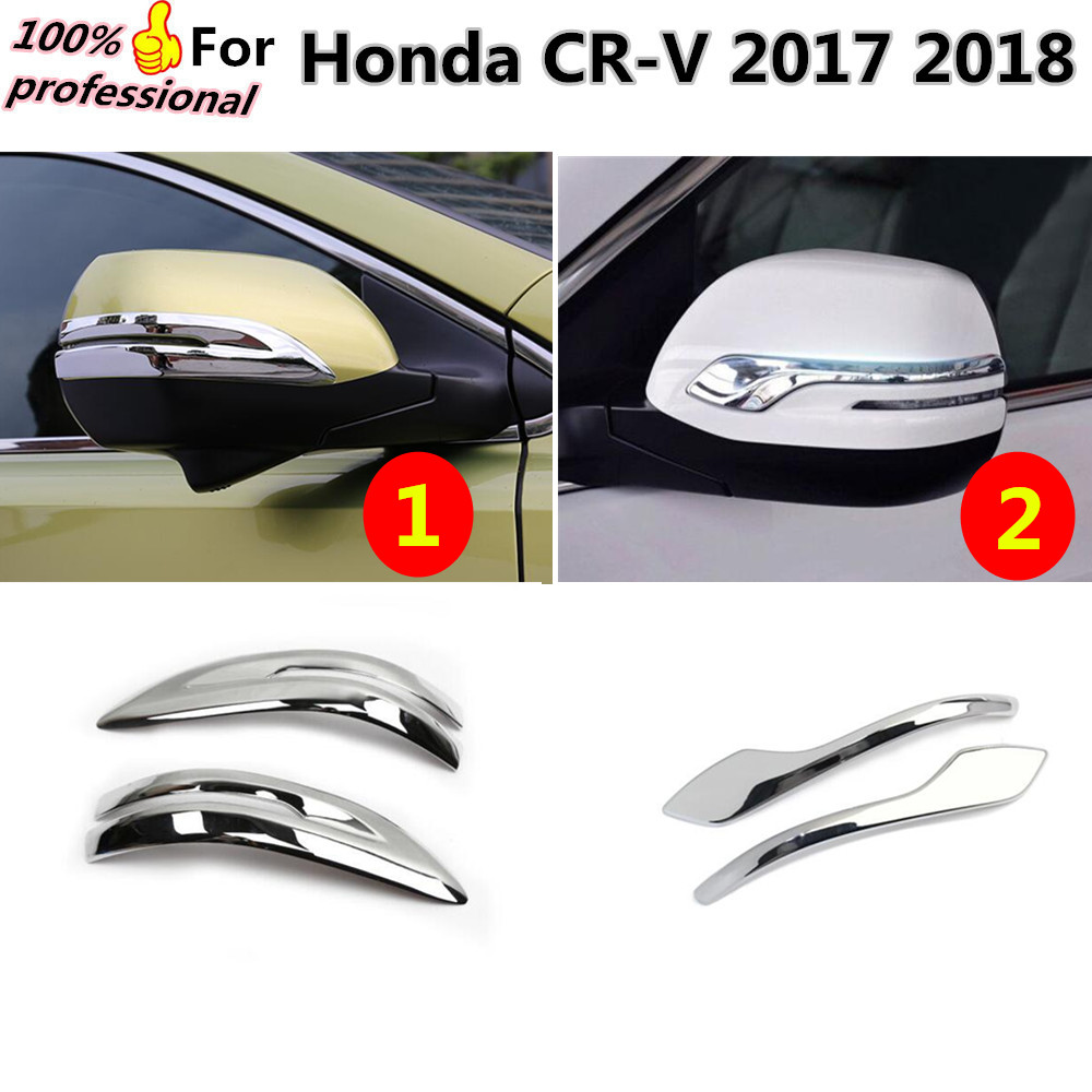 High quality For Honda CRV CR V 2017 2018 font b car b font ABS chrome