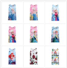Explosion models (3-10 years old) European and American childrens clothing ice romance dress princess