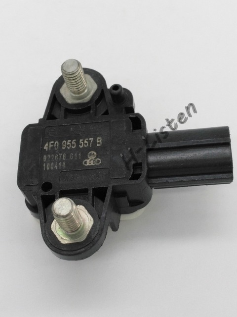 Free shipping 4F0955557B 4F0 955 557 B Auto Parts Collision Sensor Airbag Crash sensor Impact sensor For V W, A UDI