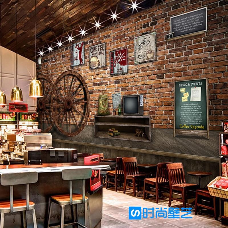 Fototapeta 3d Retro Retro Kola Ramka Na Zdjecia Tapety Cafe Jadalnia