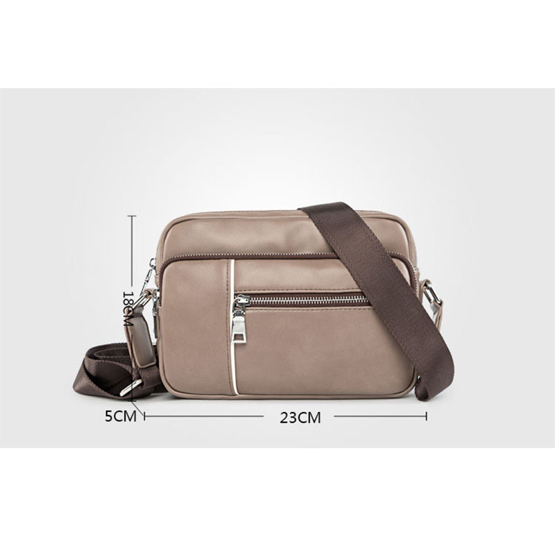Men s Small Satchels Bag 2018 Fashion Leisure Leather Messenger Bag For Men  Brown PU Side Bags For Mens Travel Shoulder Bag on Aliexpress.com   Alibaba  ... b5763bdc00
