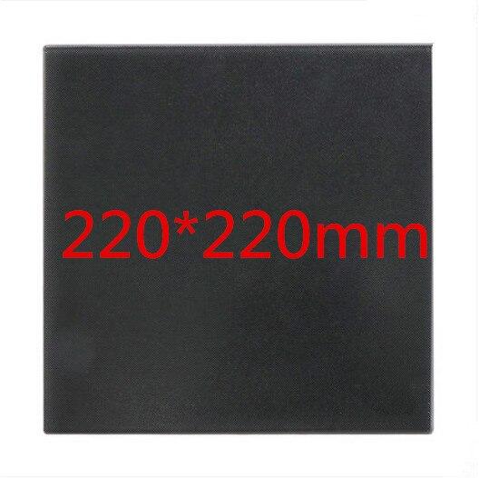1 Stücke Ultrabase Erhitzt Bett Selbst-adhesive 3d Drucker Plattform 220*220x4mm Bauen Oberfläche Glas Platte Kompatibel Mit Mk2 Mk3