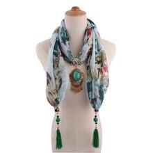 HONGHUACI new design fashion oval pendant silk scarf tassel silk scarf women's scarf headscarf free shipping geometry tassel edge scarf