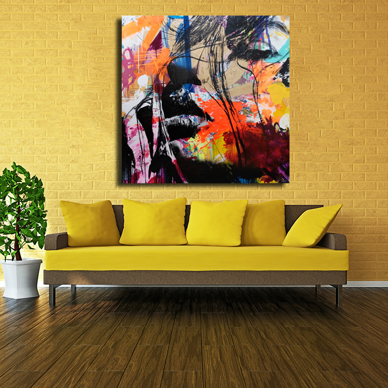 Prints oil paintings Modern David Bowie Oil Painting Wall Decor ...