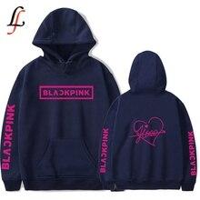 Blackpink Harajuku Women Hoodies Sweatshirts K-pop Fans Sweatshirt Streetwear Heart-Shaped Autumn Winter Clothes Oversized 4XL