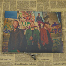 Cold play Coldplay britpop britpop poster poster Bar Café pintura decorativa(China)