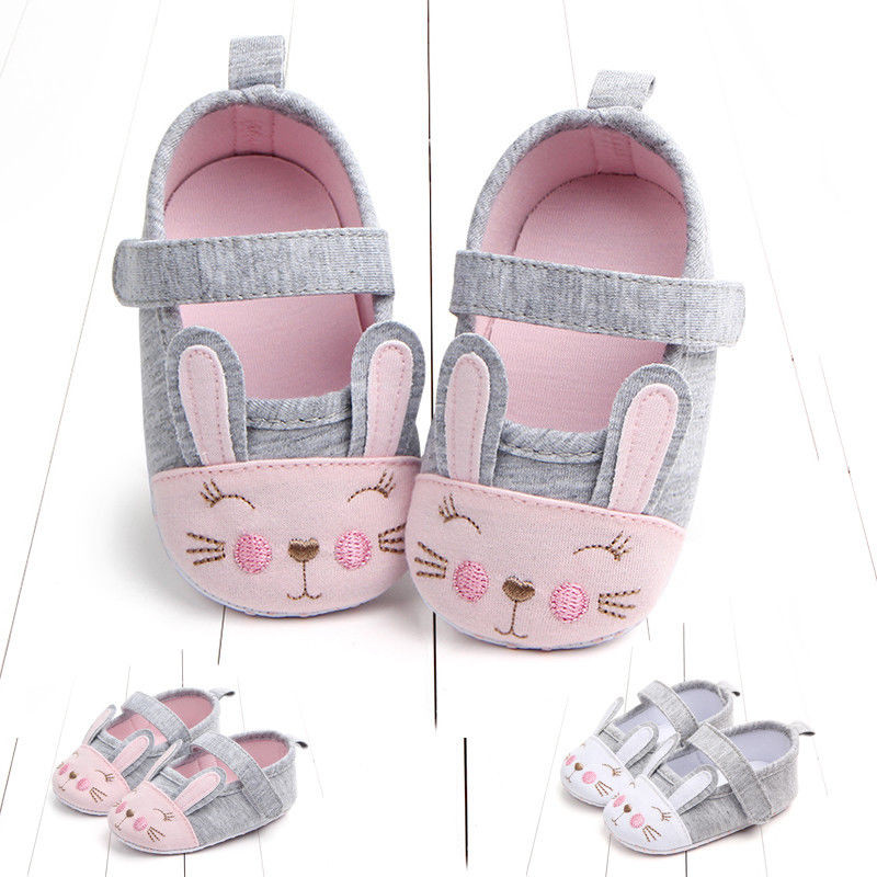 Newborn Infant Toddler Newborn Baby Girl Soft First Walkers Sole Crib Shoes Anti-slip Pram Prewalker Shoes