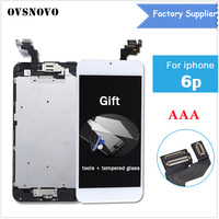For IPhone 6 Plus Screen LCD Replacement Display Home Button Front Camera Speaker Proximity Sensor Full