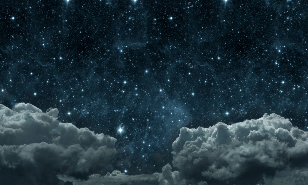 night sky stars clouds Elements furnished NASA background Vinyl cloth High quality Computer print wall photo backdrop