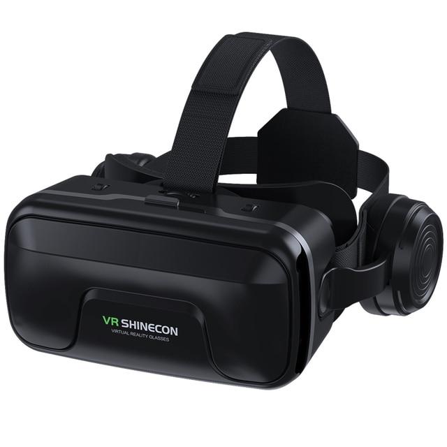 VR Shinecon 10.0 Helmet 3D Glasses Virtual Reality Casque For Smartphone Smart Phone Goggles Headset Viar Video Game Binoculars 6