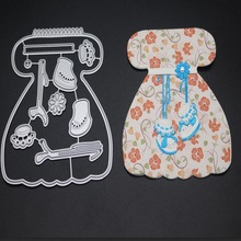 FeLicearts Baby Dress Metal Cutting Dies For DIY Scrapbooking Embossing Paper Cards Making Crafts Supplies decorative birthday