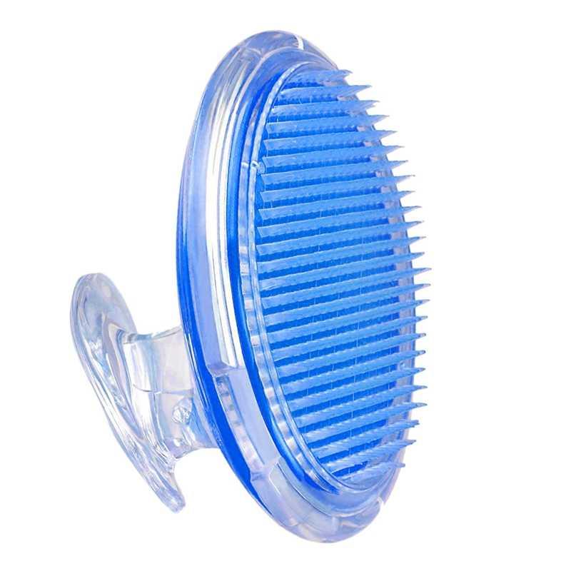 Exfoliating Shower Brush Hair Massage Comb Scalp Massager Ingrown