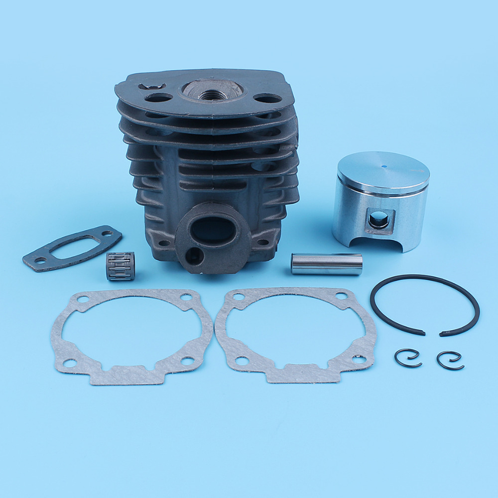 46mm Cylinder Piston Kit Gaskets Needle Bearing For Husqvarna 51 55 Rancher EU1 Chainsaw 503 16 91-71