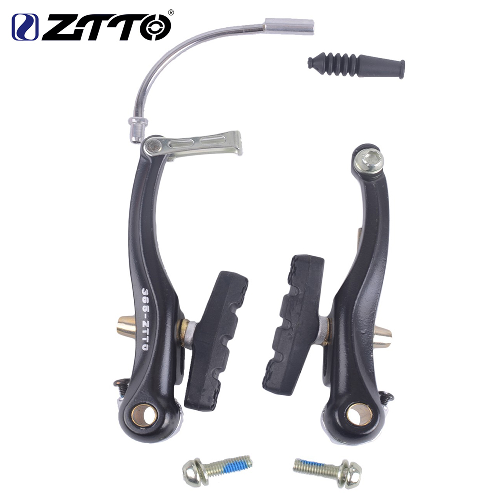 ZTTO High Quality Mountain Bicycle Bike MTB BMX Cruiser Linear Pull V Brake Caliper Set With Brake Pads