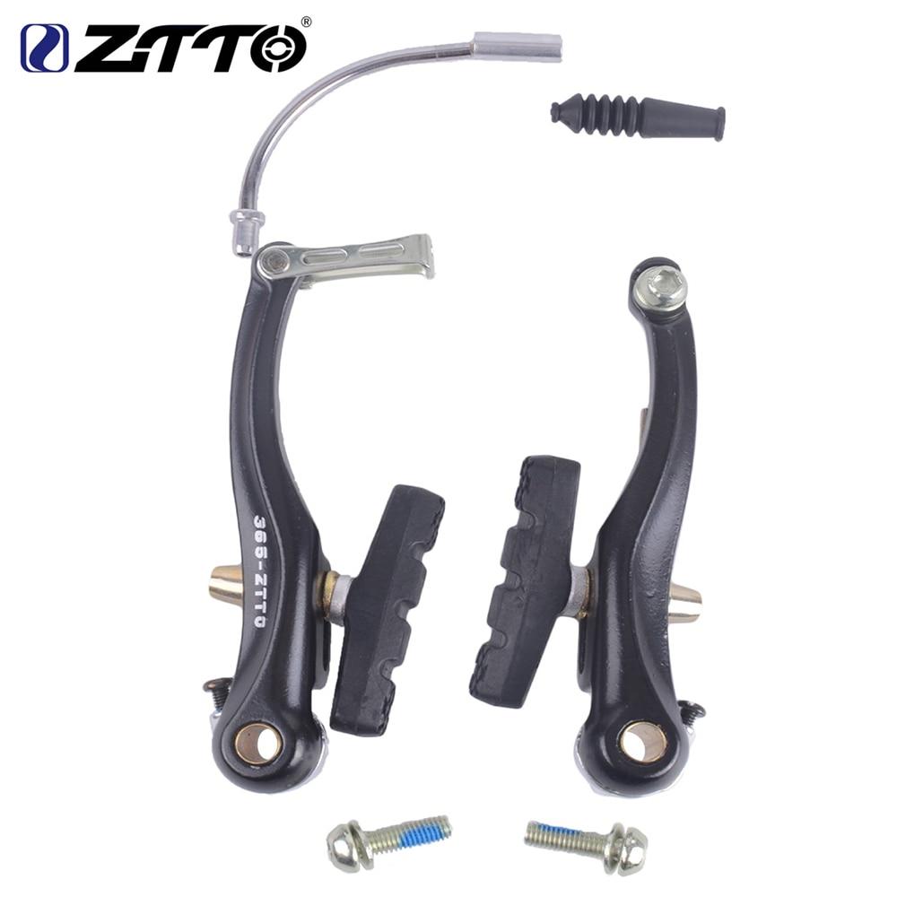 ZTTO High Quality Mountain Bicycle Bike MTB BMX Cruiser Linear Pull V Brake Caliper Set With Brake Pads