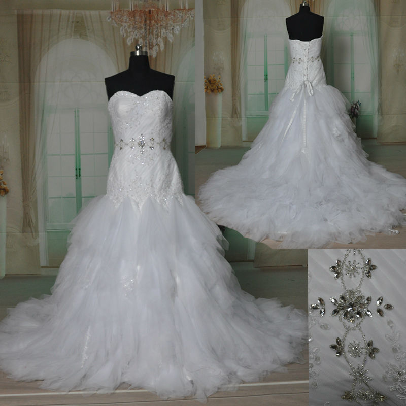 Real Sample Picture,exquisite Handmade Beaded Bridal