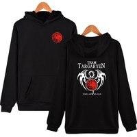 Hot Game Of Thrones Targaryen Fire Blood Hooded Hoodie Coat Jacket Sweatshirts Casual MEN WOMEN Hoodies