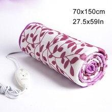 Электрическое одеяло с автоматическим выключением защиты грелку теплое одеяло с подогревом для зимы