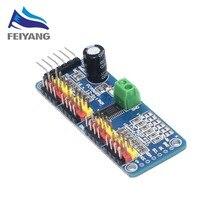 10 sztuk 16 kanałowy 12 bit PWM/serwo Driver I2C interfejs PCA9685 moduł Raspberry pi moduł obudowy serwo tarcza tarcza