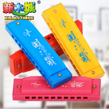 1pc New 4 color  Swan Harmonica  Key of C for Blues Rock Jazz Folk Harmonicas  Children 's educational toys gift