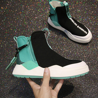 ZENVBNV New Fashion Women Casual Shoes canvas Mesh Platform Shoes Soft Black Green Sneakers Ladies Chaussure Femme Lace up Shoes
