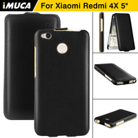 For Xiaomi Redmi 4X 4x 4 X 4 X Cases Cover IMUCA 5 0 Inch PU
