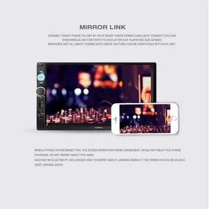 Image 4 - 7 אינץ רכב MP4 MP5 נגני מרכזי מולטימדיה מגע מסך ראיית לילה מבט אחורי מצלמה Bluetooth אוטומטי רדיו Fm וידאו נגן