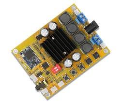 TDA7492 Bluetooth 4,0 Мощность Плата усилителя 2*50 Вт двухканальный цифровой усилитель