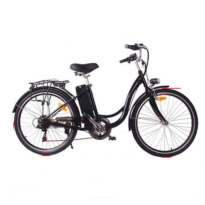 26 inch electric bicycle 7 speed detachable battery electric bike double disc brake e bike adult travel electric bicycle