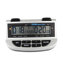 Jump professional compact digital Chess Clock Count Down Timer Electronic Game Competition Master Tournament FREE bonus