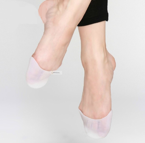 4pcs new pro ballet thumb insole dance high heels women shoes toe gel silicone sanshan melissa feet care gift X-130261