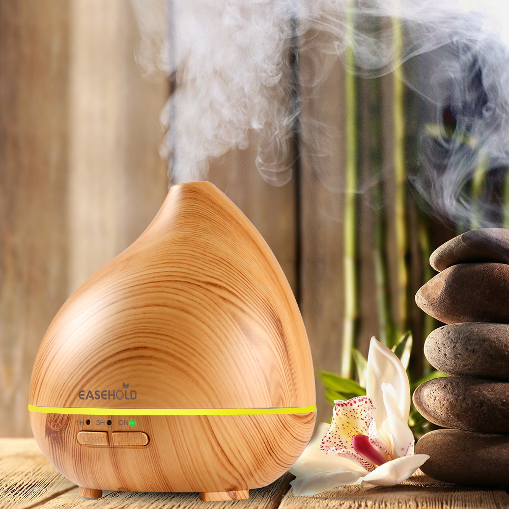 EASEHOLD 150ml Air Humidifier Essential Oil Diffuser Electric Aroma Ultrasonic Humidifiers Aromatherapy Mist Maker Home Office air humidifiers essential oil diffuser for home ultrasonic humidifier perfumes aroma diffuser mist maker with 7 color led light