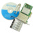 Adaptador de 4 Portas Gigabit Ethernet De Fibra Multi Modo 850nm LC Óptica Módulo PCIe X4