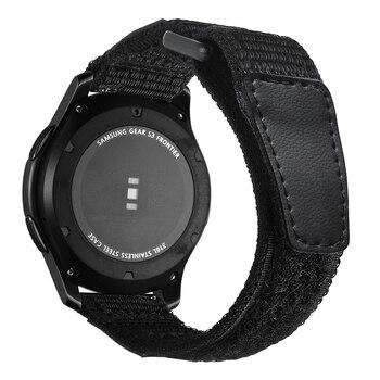 Sport Nylon watch strap For Samsung Gear S3 frontier/classic galaxy watch 46mm huawei watch gt strap 22mm watch band bracelet S3