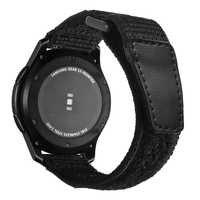 Sport nylonowy pasek do zegarka dla Samsung biegów S3 frontier/klasyczne galaxy watch 46mm huawei watch gt pasek pasek do zegarka 22mm bransoletka S3