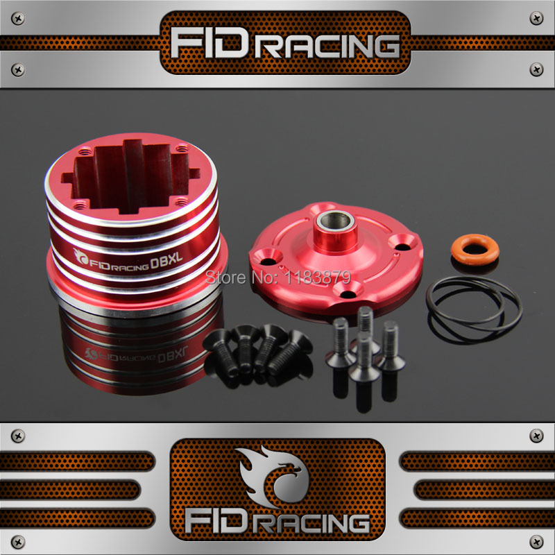 FidRacing LOSI Desert Buggy XL Metal differential shell Bearing sleeve цена