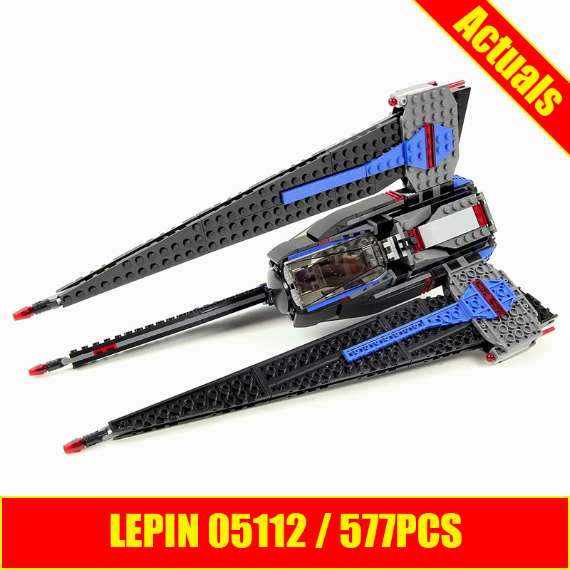 597pcs Lepin 05112 Star Wars Tracker I 75185 Building Kit Children Educational Building Blocks Bricks
