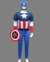 2016 New Marvel The Avengers Age Of Ultron Captain America Cosplay Costume Steve Rogers Outfits Adult