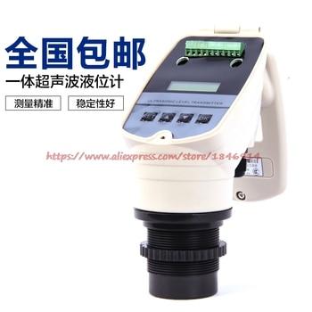 цена на 4-20MA integrated ultrasonic level meter  ultrasonic level meter  0-5M ultrasonic water level gauge DC24V level sensor