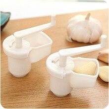 Домашний пластиковый Миксер для чеснока, кухонный дизайн, ручной очиститель чеснока