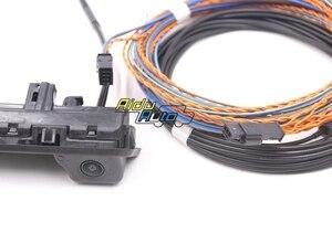 Image 3 - 81A 827 566A אחורית מצלמה עם Highline קו הדרכה חיווט לרתום עבור אאודי Q2 Q3 F3 81A827566A