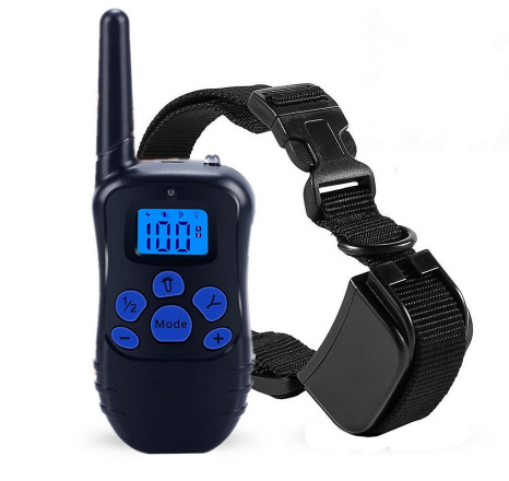 Remote Dog Training Electronic Collar 998DRB Pet Dog Trainer 100 level Vibration and shock Anti Bark Training Collar 100 levels rechargeable bark control dog collar with 1 3 lcd remote controller