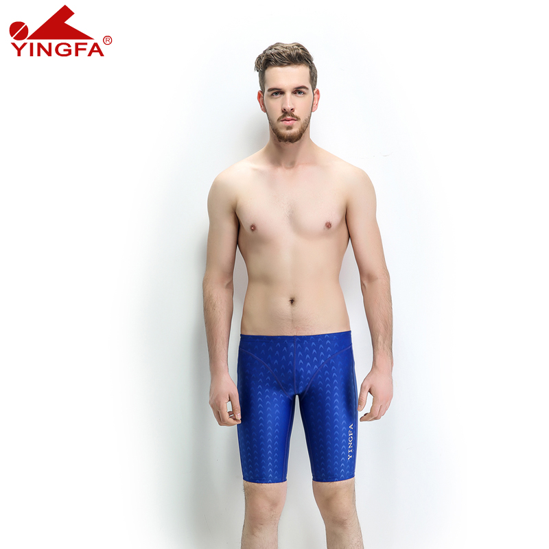 Yingfa 9205 Fina approved men Boys swim briefs sharkskin swimwear Mens suit Competitive Swimsuit racing swimsuits professional in Body Suits from Sports Entertainment