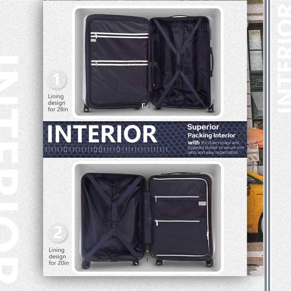 3 個セット荷物拡張可能なアルミフレーム Xiaomi スーツケーススーツケース PC + ABS スピナー内蔵 TSA ロック 20in 24in 28in にキャリー