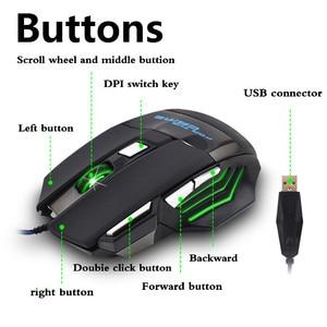 Image 2 - 와이어 게이밍 마우스 7 버튼 5500 인치 당 점 게이머 마우스 Win 2000 7 8 10 게이머 USB 광 마우스 PC 컴퓨터